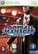 jaquette Xbox 360 Football Manager 2008