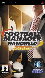 jaquette PSP Football Manager 2009