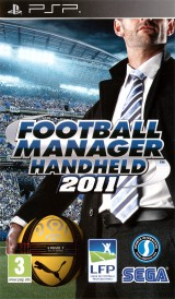 jaquette PSP Football Manager 2011