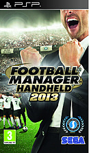 jaquette PSP Football Manager 2013