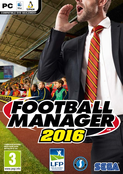 jaquette PC Football Manager 2016