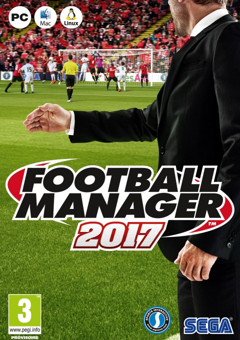 jaquette PC Football Manager 2017