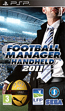 jaquette PSP Football Manager Handheld 2011
