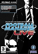 jaquette PC Football Manager Live