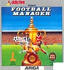 jaquette Amiga Football Manager