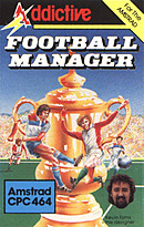 jaquette Amstrad CPC Football Manager