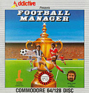 jaquette Commodore 64 Football Manager