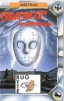 jaquette Amstrad CPC Friday The 13th
