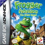 jaquette GBA Frogger The Great Quest