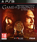 jaquette PlayStation 3 Game Of Thrones Le Trone De Fer