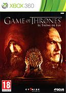jaquette Xbox 360 Game Of Thrones Le Trone De Fer