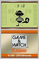 Game Watch Flagman Nintendo DS 94965661