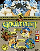 jaquette Amstrad CPC Gauntlet