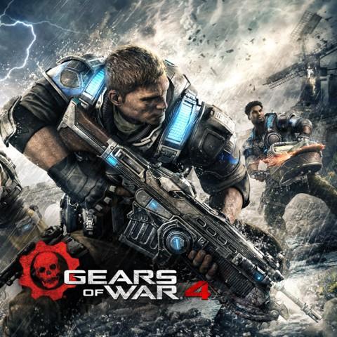 jaquette PC Gears Of War 4