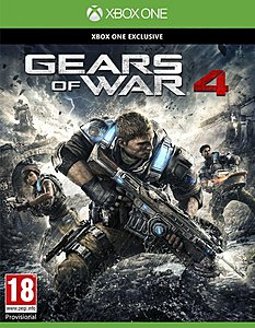 jaquette Xbox One Gears Of War 4