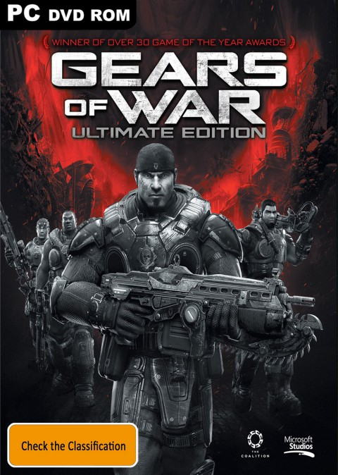 jaquette PC Gears Of War Ultimate Edition