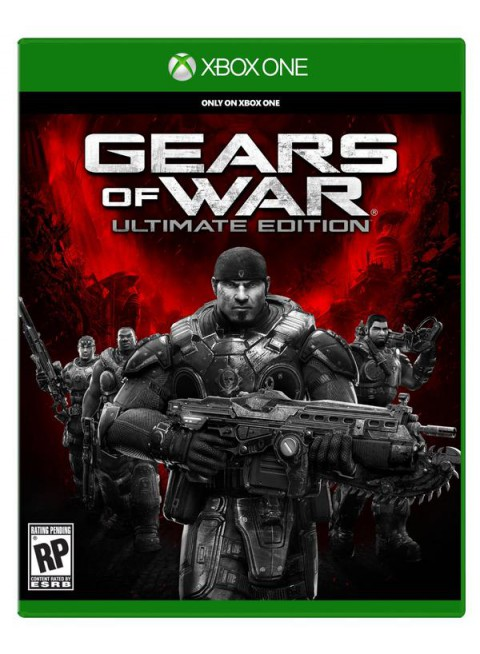 jaquette Xbox One Gears Of War Ultimate Edition