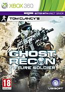 jaquette Xbox 360 Ghost Recon Future Soldier