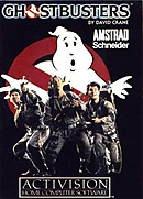 jaquette Amstrad CPC Ghostbusters