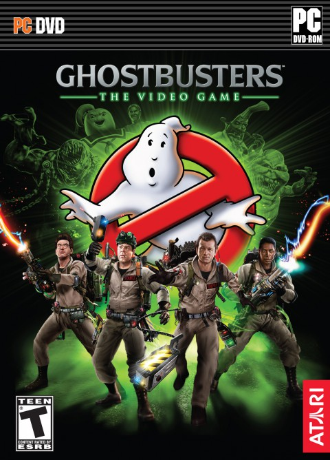 jaquette PC Ghostbusters
