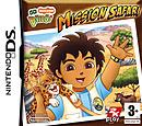 jaquette Nintendo DS Go Diego Mission Safari