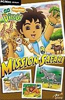 jaquette PC Go Diego Mission Safari