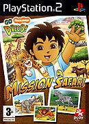 jaquette PlayStation 2 Go Diego Mission Safari