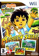 jaquette Wii Go Diego Mission Safari