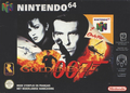 jaquette Nintendo 64 GoldenEye 007