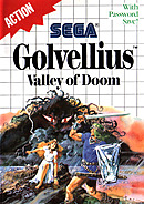jaquette Master System Golvellius Valley Of Doom