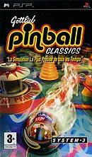 jaquette PSP Gottlieb Pinball Classics