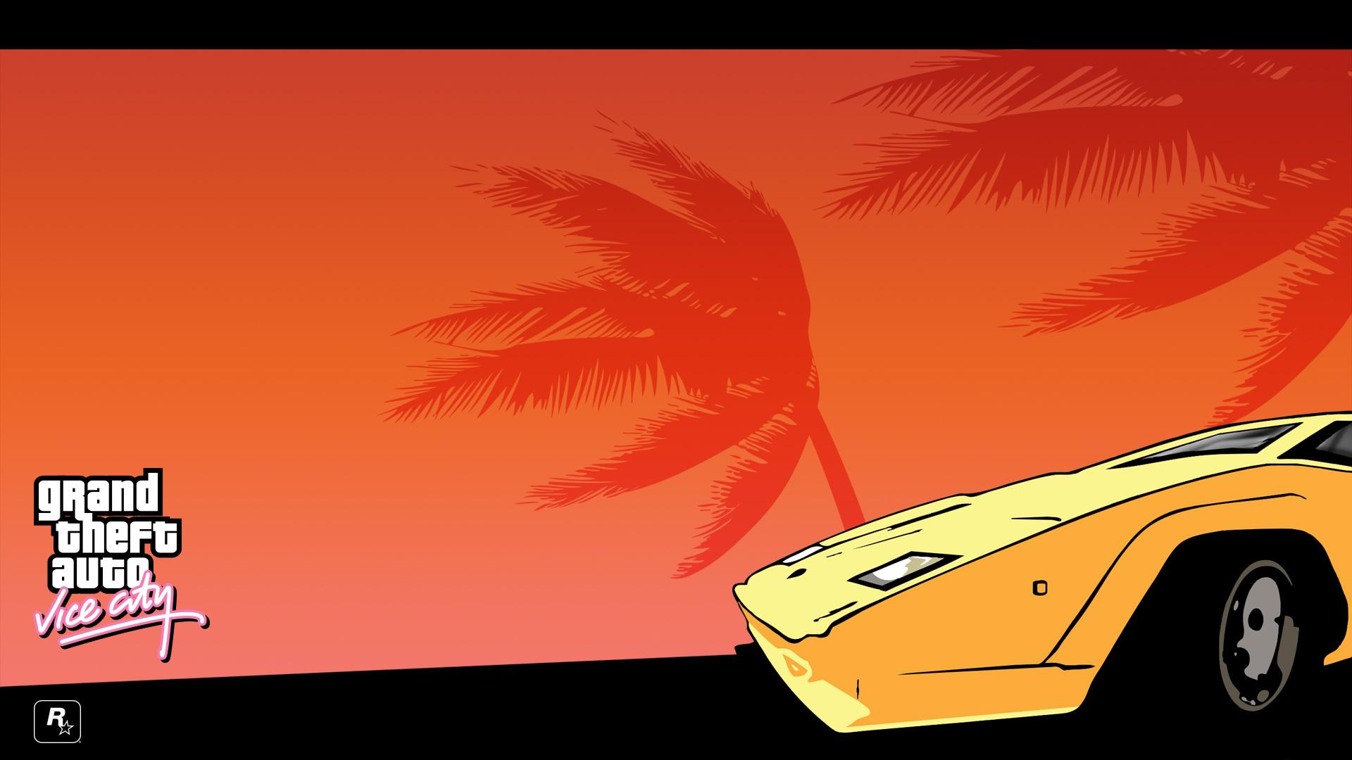 Grand Theft Auto On Vita : Wallpapers fond d ecran pour grand theft auto vice city