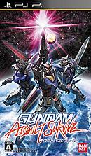 jaquette PSP Gundam Assault Survive