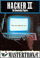 jaquette Amstrad CPC Hacker II The Doomsday Papers
