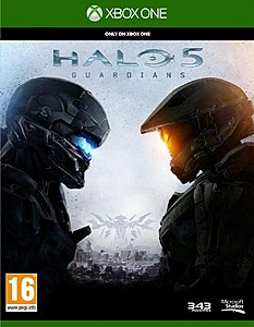 jaquette Xbox One Halo 5 Guardians