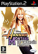 jaquette PlayStation 2 Hannah Montana En Tournee Mondiale