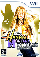 jaquette Wii Hannah Montana En Tournee Mondiale