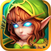 jaquette iOS Heroes And Titans 3D Battle Arena