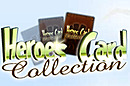 jaquette Navigateur Heroes Card Collection