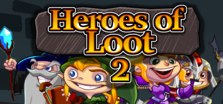 jaquette PC Heroes Of Loot 2