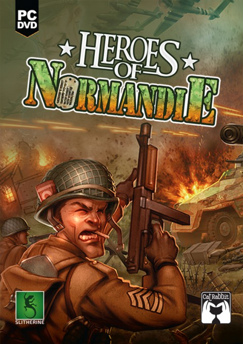 jaquette PC Heroes Of Normandie
