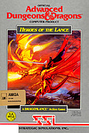 jaquette Amiga Heroes Of The Lance