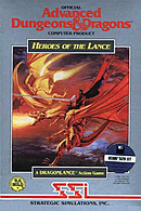 jaquette Atari ST Heroes Of The Lance