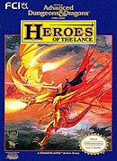 jaquette Nes Heroes Of The Lance