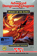jaquette PC Heroes Of The Lance