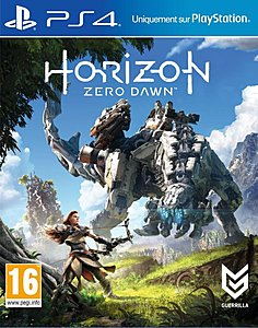 jaquette PlayStation 4 Horizon Zero Dawn