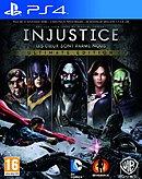jaquette PlayStation 4 Injustice Les Dieux Sont Parmi Nous