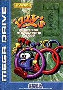 jaquette Megadrive Izzy s Quest For The Olympic Rings
