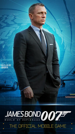 jaquette iOS James Bond World Of Espionage
