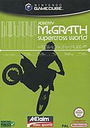 jaquette Gamecube Jeremy McGrath Supercross World